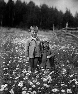 Andrei Tarkovsky as a child