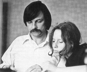 Andrei Tarkovsky with his stepdaughter