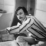 Andrei Tarkovsky on the set of Solaris