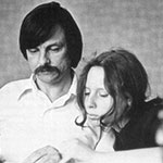 Andrei Tarkovsky with his stepdaughter Olga Kizilova