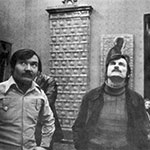 Andrei Tarkovsky with Rashid Safiullin at a museum