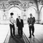 Andrei Tarkovsky with Rashid Safiullin in a mosque
